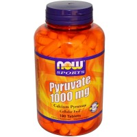 Now Foods Pure Pyruvate 1000mg 180 Tabs