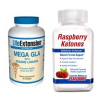 TV Doctor Mega GLA & Raspberry Ketone Fat Scorching Stack