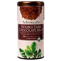 The Republic of Tea Double Dark Chocolate Mate 36 Natural Unbleached Tea Bags