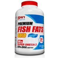 SAN Fish Fats Gold  120 Soft Gels