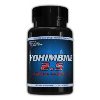 Serious Nutrition Solutions Yohimbine HCL 2.5mg 100 Caps
