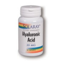 Solaray Hyaluronic Acid 20mg 30 Caps