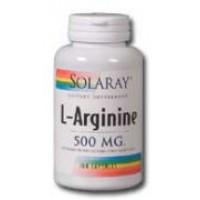 Solaray L-Arginine 500mg 100 Caps