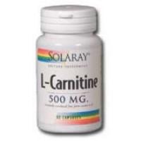 Solaray L-Carnitine 500mg 60 Caps