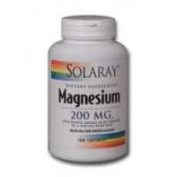 Solaray Magnesium AAC 200mg 100 Caps