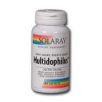 Solaray Multidophilus Lactic Flora (Non-Dairy, Freeze-Dried) 3 Billion 100 Caps