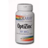 Solaray OptiZinc 30mg 60 Caps