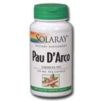 Solaray Pau D'Arco Inner Bark 510mg 100 Caps