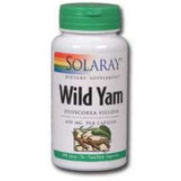 Solaray Wild Yam Root 400mg 100 Caps