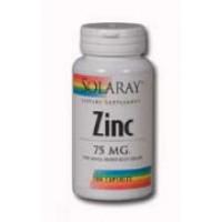 Solaray Zinc 75mg 100 Caps