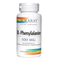 Solaray DL-Phenylalanine 500mg 60 Caps