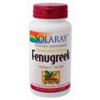Solaray Fenugreek Extract 350mg 90 Caps