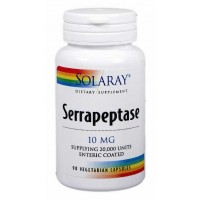 Solaray Serrapeptase 90 Vegi Caps