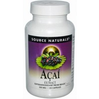 Source Naturals Acai Extract 500mg 60 Caps