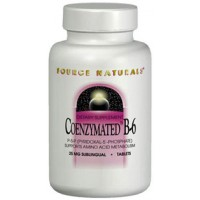 Source Naturals Coenzymated B-6 Sublingual 25mg 30 Tablets