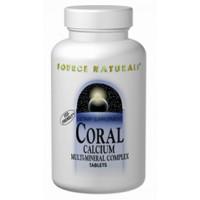 Source Naturals Coral Calcium 600mg 60 Tablets