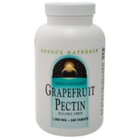 Source Naturals Grapefruit Pectin 1000mg 240 Tablets