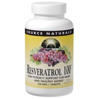 Source Naturals Resveratrol 100mg 120 Caps