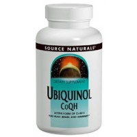 Source Naturals Ubiquinol CoQH 100mg 90 Gels