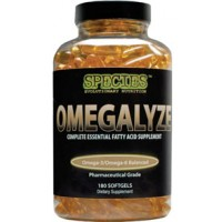 Species Nutrition Omegalyze 180 Gels