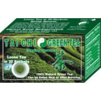 Tai Chi Green Tea Green Tea Loose Tea 20 Packets