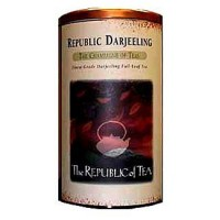 The Republic of Tea Darjeeling Full-Leaf Loose Black Tea 3.5 Oz (Brews 50 Cups)