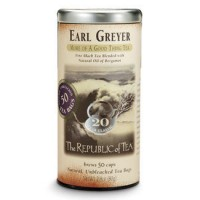 The Republic of Tea Earl Greyer 50 Tea Bags