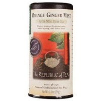 The Republic of Tea Orange Ginger Mint Tea 36 Tea Bags