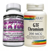 TV Doctor Raspberry Ketone & GTF Chromium Fat Loss Stack