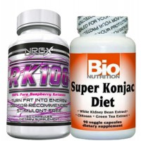 TV Doctor Raspberry Ketones & Konjac Root Fat Loss Stack