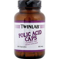 Twinlab Folic Acid 800mcg 200 Caps