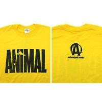 Universal Animal Iconic Tee Yellow Medium