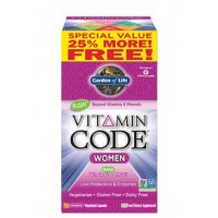 Garden of Life Vitamin Code Women's Formula (25% More - 150ct)