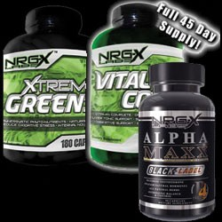 NRG-X Labs Men's Health Stack