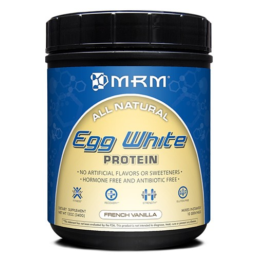 MRM All Natural Egg White Protein Supplement