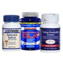 As Seen On TV Slim Down for Summer Stack (Saffron Extract, Forskolin &amp; CLA)