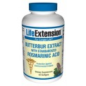 Life Extension 75mg Butterbur Extract with Standardized Rosmarinic Acid 60 Softgels
