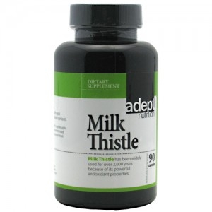 Adept Nutrition Milk Thistle 90 Caps