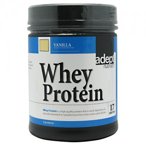Adept Nutrition Whey Protein 1 Lb