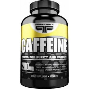 PrimaForce Caffeine 200mg 90 Tabs