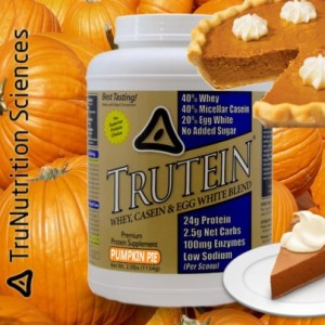 TruNutrition Sciences Trutein Pumpkin Pie