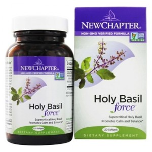 New Chapter Holy Basil Force 60 Vege Caps