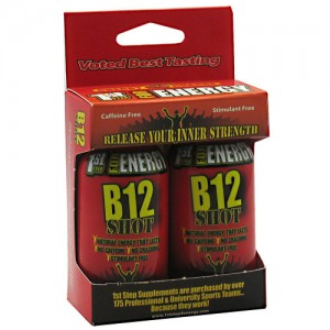 High Performance Fitness B12 Shot Cherry Charge 2 Pack