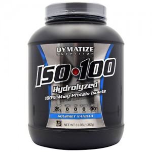 ISO 100 Hydrolyzed Whey 3 Lbs