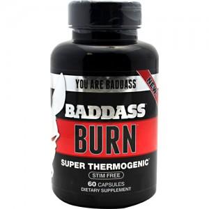 Baddass Nutrition Baddass Burn 60 Caps