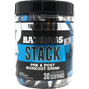 Baddass Nutrition Baddass Stack Fruit Punch-Grape 30 Servings