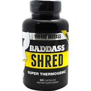 Baddass Nutrition Baddass Shred 60 Caps