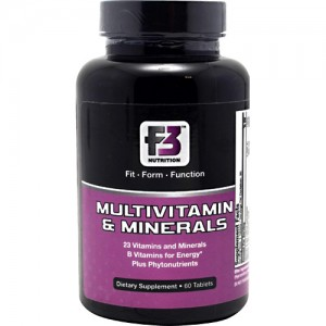 F3 Nutrition Multivitamin & Minerals 60 Tabs