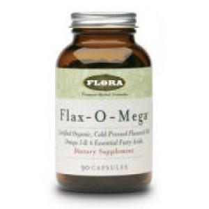 Flora Flax-O-Mega 90 Capsules