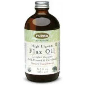 Flora (Udo's Choice) Certified Organic High Lignan Flax Oil 17oz